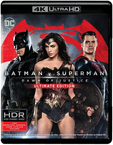 Batman v Superman: Dawn of Justice [Ultimate] [4K Ultra HD Blu-ray/Blu-ray]