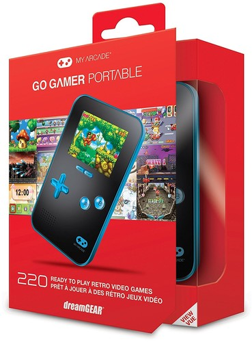 - My Arcade GoGamer: Portable Gaming System - Blue/Black