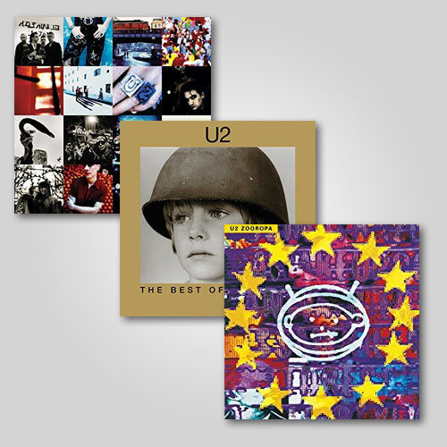 U2 2LP Reissue Bundle
