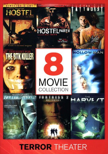 8 Movie Collection: Terror Theater
