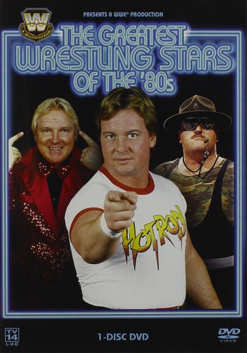 The Greatest Wrestling Stars of the '80s (One Disc)