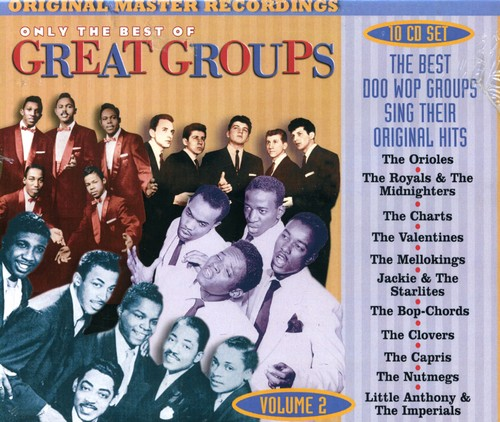 Only the Best of the Great Groups 2 /  Various