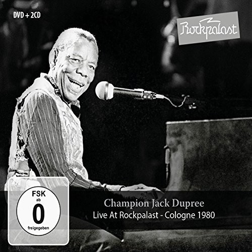 Champion Jack Dupree - Live At Rockpalast: Cologne 1980 (W/Dvd)