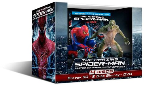 The Amazing Spider-man With Amazing Spider-Man and The Lizard Figurine