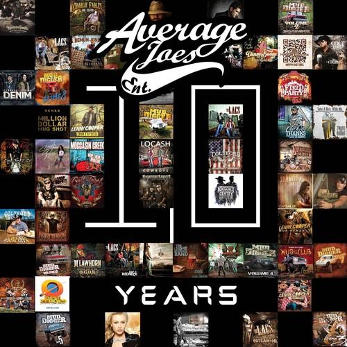 Average Joes: 10 Years (Various Artists)