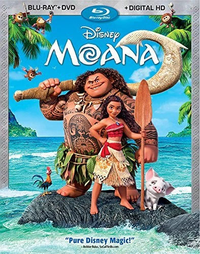 Moana [Blu-ray+DVD+Digital HD]