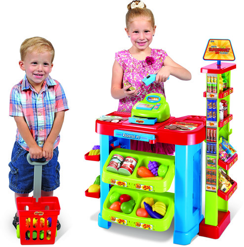 - Super Market Cash Register & Scanner Playset