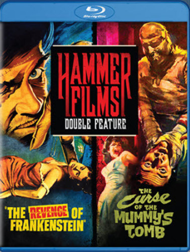 Hammer Films Double Feature: The Revenge of Frankenstein /  Curse of the Mummy's Tomb