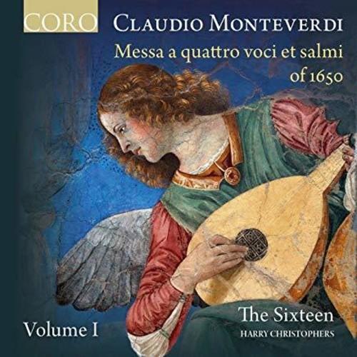 The Sixteen - Monteverdi: Messa A Quattro Voci Et Salmi Of 1650 Volume I