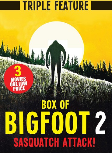 Box of Bigfoot 2: Sasquatch Attack (Triple Feature)