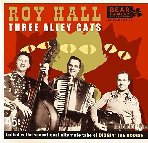 Three Alley Cats