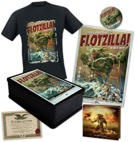 Flotsam & Jetsam - The End Of Chaos [Limited Edition Box Set w/L T-Shirt]