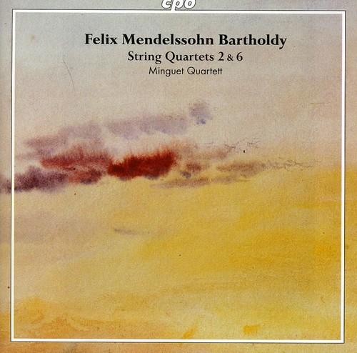 String Quartets Vol 1: No 2 Op 13 & No 6 Op 80