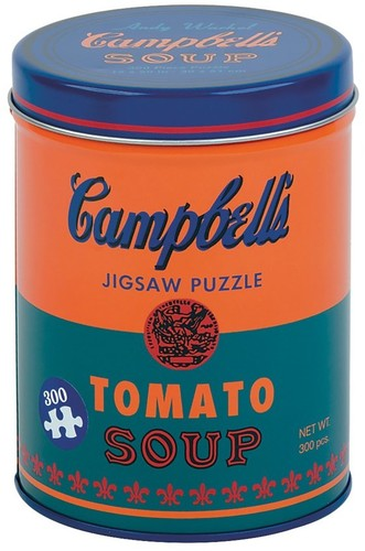 - Andy Warhol Soup Can Orange 300 Piece Puzzle
