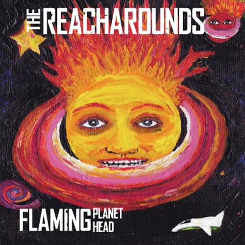 Flaming Planet Head