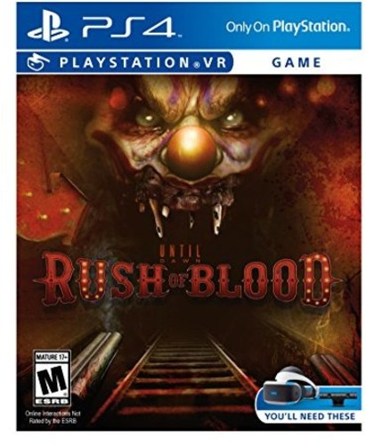 - Until Dawn: Rush Of Blood Vr