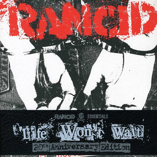 Rancid - Life Won't Wait (Rancid Essentials 6X7 Inch Pack)