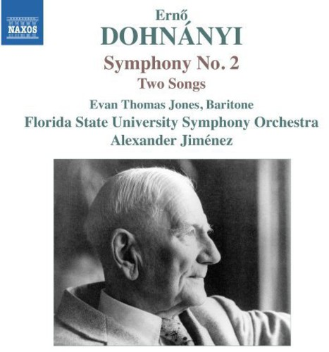 Jones / Florida State University Symphony Orch - Sym 2 2 Songs