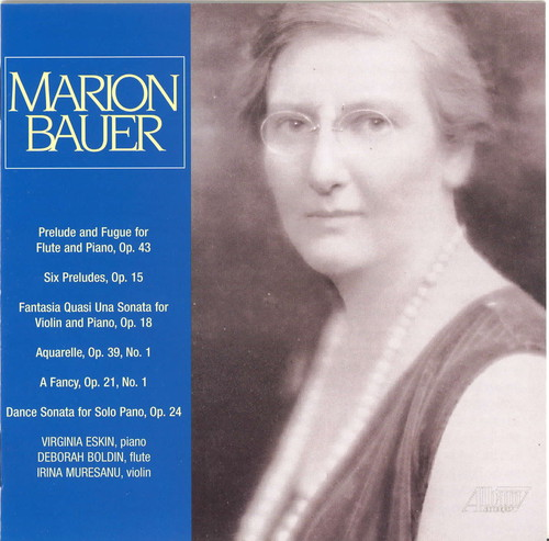 Camber Music of Marion Bauer
