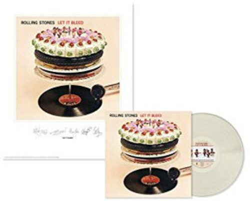 Rolling Stones: Let It Bleed (Lithograph) (Clear Vinyl)