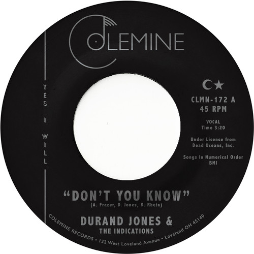 Durand Jones & The Indications - Don't You Know [Vinyl Single]