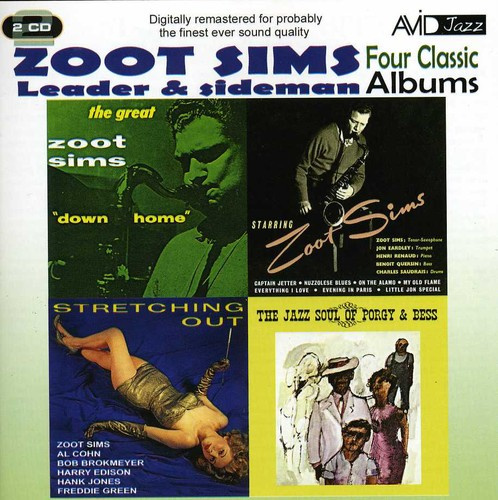 Stretching Out/ Starring Zoot/ Downhome/ Jazz Soul Of Porgy and Bess