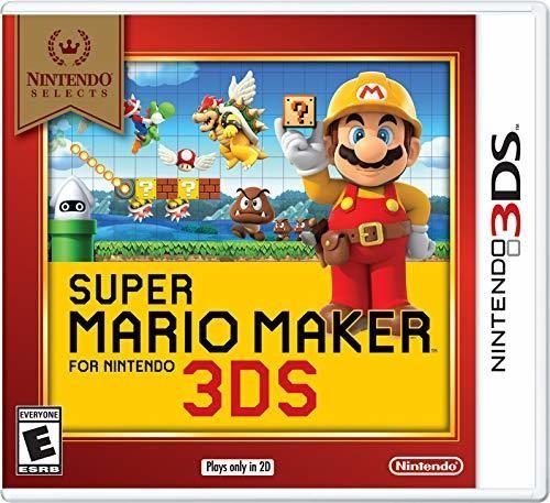 3Ds Super Mario Maker - Nintendo Selects - Super Mario Maker for 3DS - Nintendo Selects Edition for Nintendo 3DS