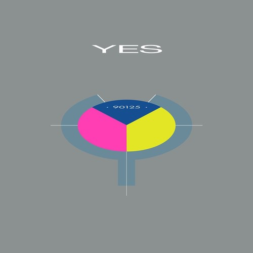 Yes - 90125 (Back To The 80's Exclusive) [Pink/Yellow/Blue LP]