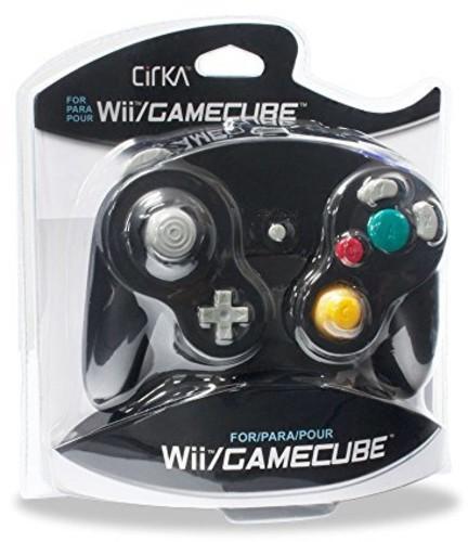 - CirKa Controller - Black for Nintendo Wii and GameCube