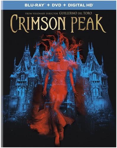 Crimson Peak [UltraViolet] [Blu-ray/DVD] [2 Discs]