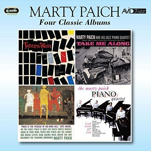 4 Lps - Tenors West /  Take Me Along /  Picasso