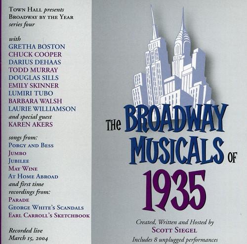 Broadway Musicals Of 1935