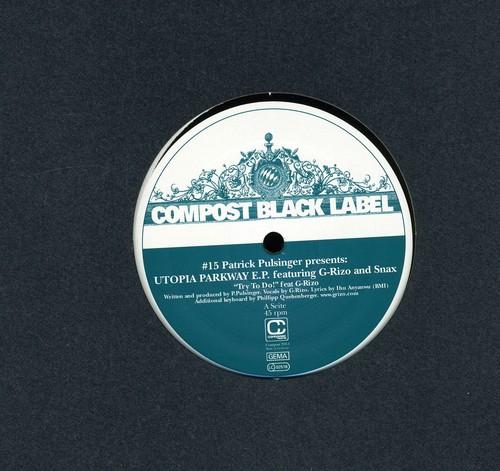 Compost Black Label #15: Utopia Parkway EP
