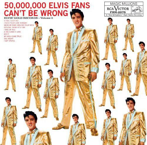 Elvis Gold Records Volume 2