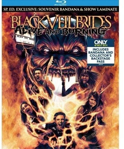 Black Veil Brides - Alive And Burning [Blu-ray/Laminate/Bandana Box Set]