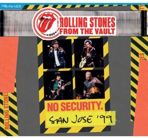 The Rolling Stones - From The Vault: No Security. San Jose '99 [Blu-ray+2CD]