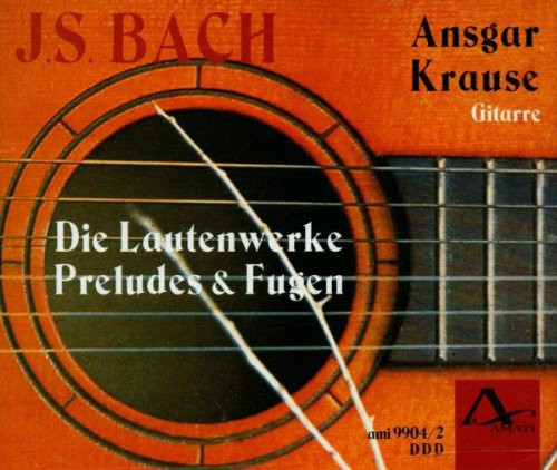 Bach, J.S. /  Krause : Works for Lute