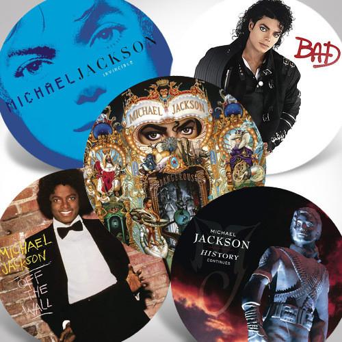 Michael Jackson Picture Vinyl Bundle