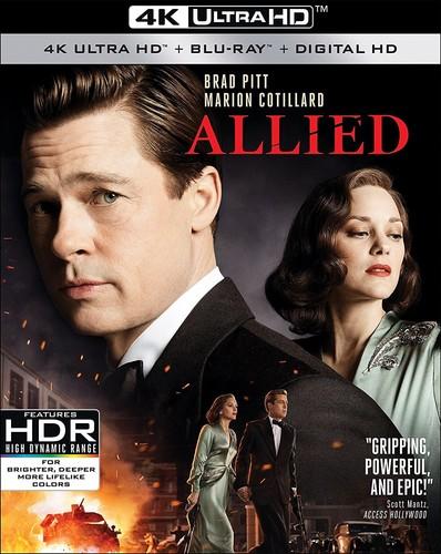 Allied [4K Ultra HD Blu-ray/Blu-ray]