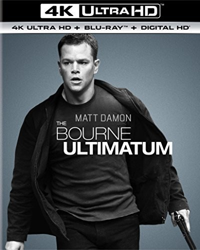 Bourne Ultimatum [4K Ultra HD Blu-ray/Blu-ray] [UltraViolet]