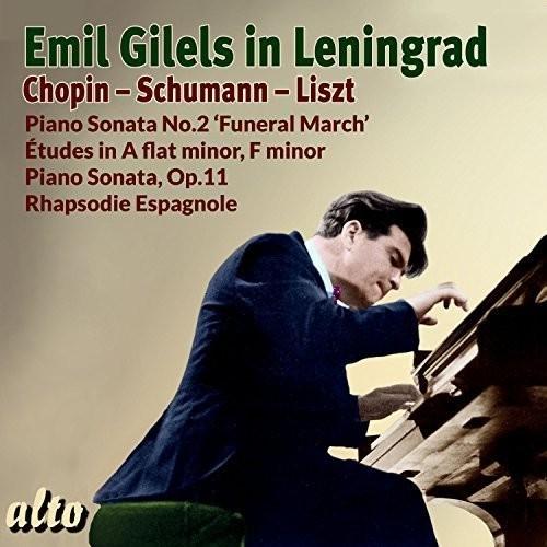 Emil Gilels in Leningrad