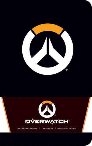 - Overwatch Ruled Notebook