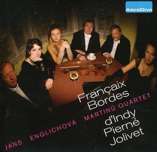Francaix Bordes D'indy Pierne Jolivet
