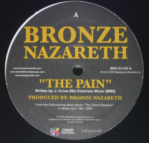 The Pain /  More Than Gold