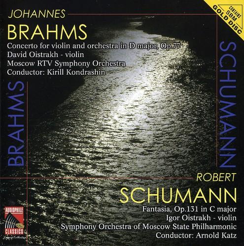 Brahms: VLN Cto /  Schumann: Fantasia