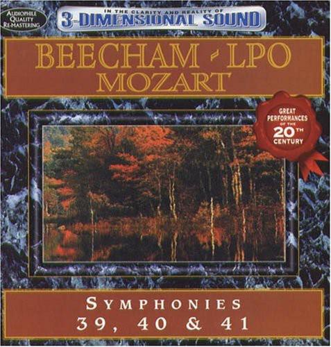 Mozart: Symphonies 39 40 & 41