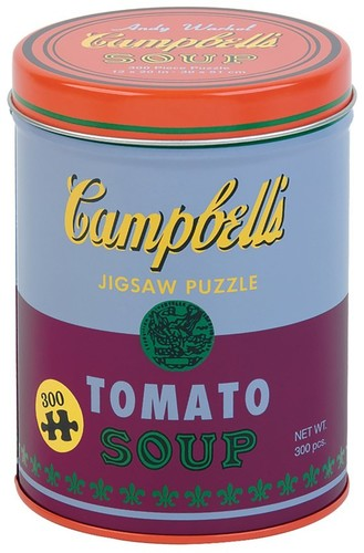 - Andy Warhol Soup Can Red Violet 300 Piece Puzzle