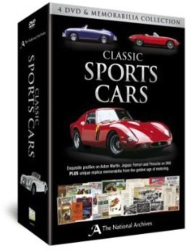 Classic Sports Cars Memorabilia Set
