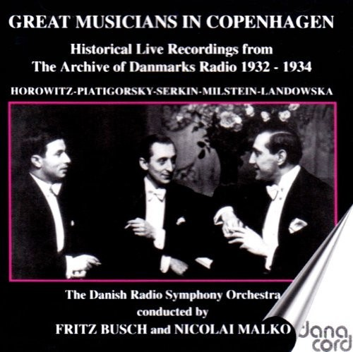 Great Musicians in Copenhagen /  Various