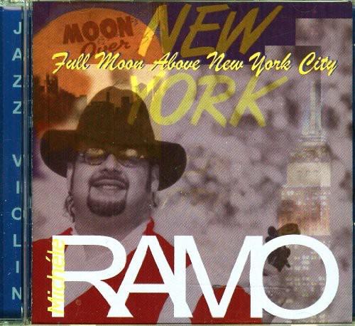 Full Moon Above New York City